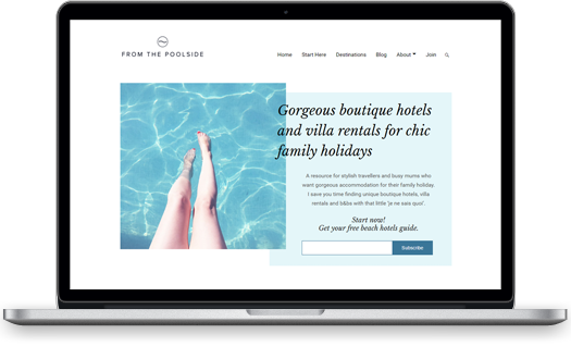 From the poolside website by Miria Studio