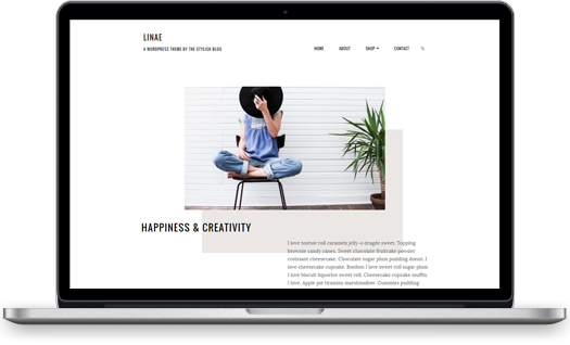 Linae WordPress theme screenshot